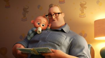 Take Dad to see Disney Pixar's INCREDIBLES 2! In Theaters NOW! #Incredibles2