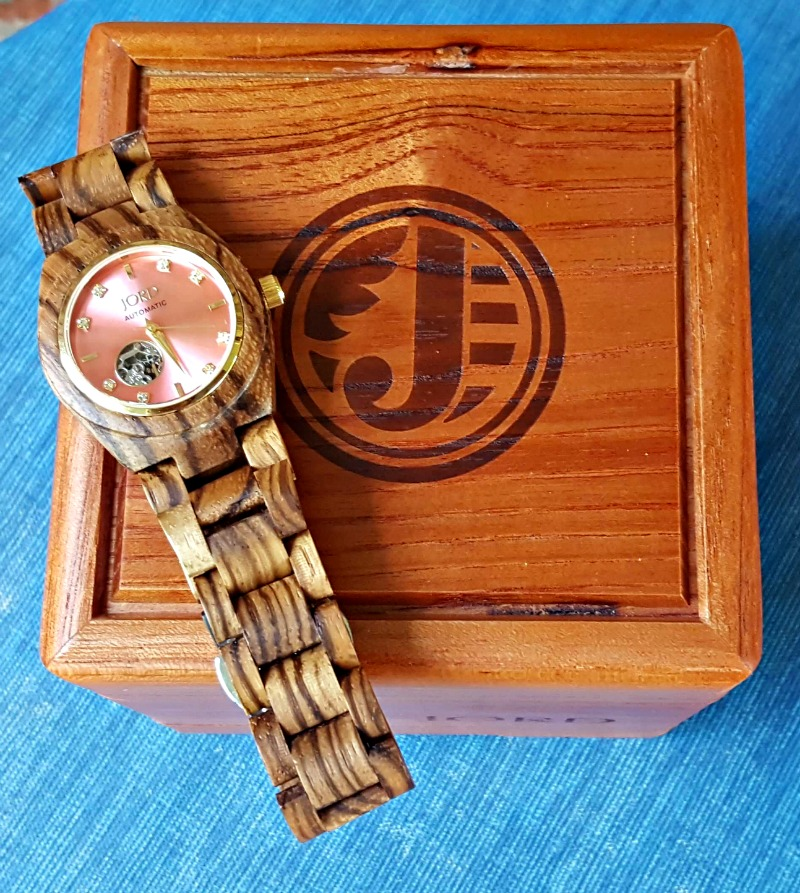 Beautiful, Yet Elegant: A Unique Wooden Watch by JORD