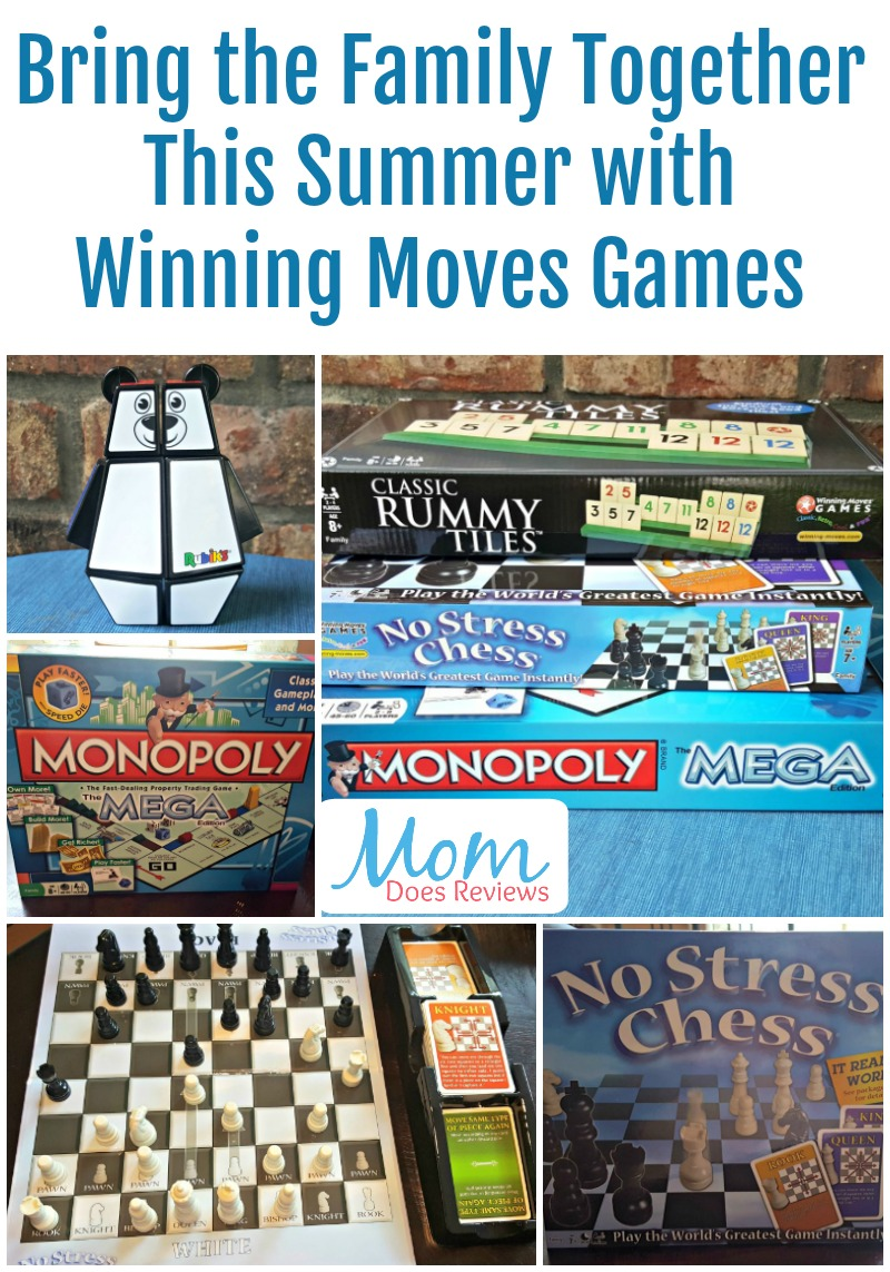 Bring the Family Together This Summer with Winning Moves