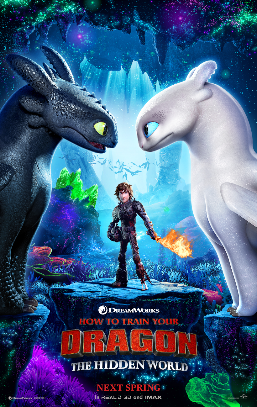 How to Train your Dragon 3 #HOWTOTRAINYOURDRAGON