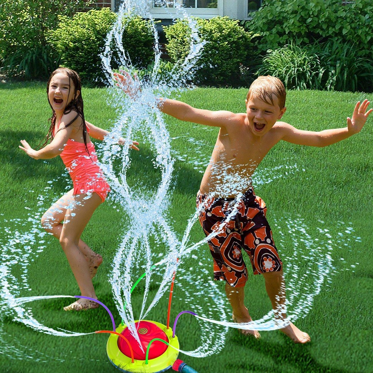 Hydro Swirl Spinning Sprinkler