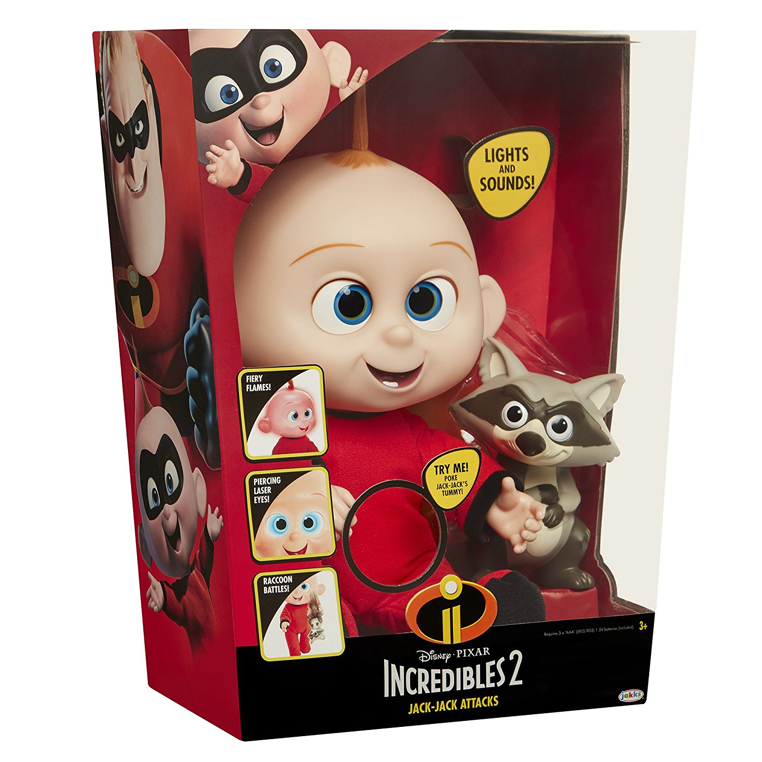 Best Incredibles Toys Reviewed : Win an incredibles jack plush figure or amazon