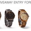 Win a JORD $139 watch