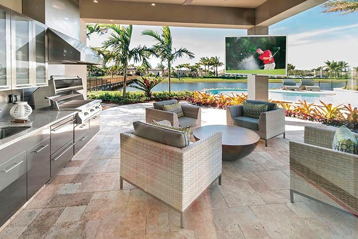 Get a SunBriteTV! Great for Outdoor Living!