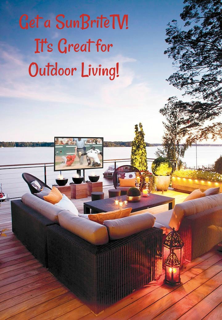 Get a SunBriteTV! Great for Outdoor Living! #ad