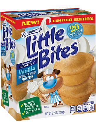 Vanilla Little Bites