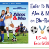 Win Alex and me on Blu Ray