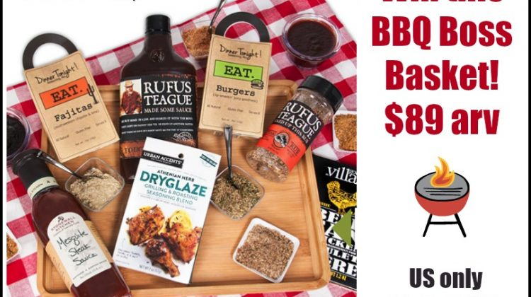 #Win a Barbecue Boss – BBQ Gift Basket US ends 6/22