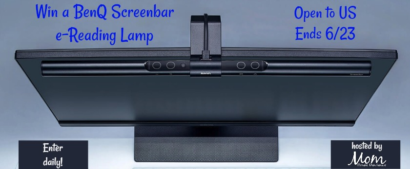 Win a BenQ Screenbar e-Reading Lamp