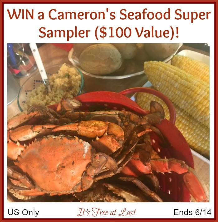 Win Cameron's Seafood Super Sampler