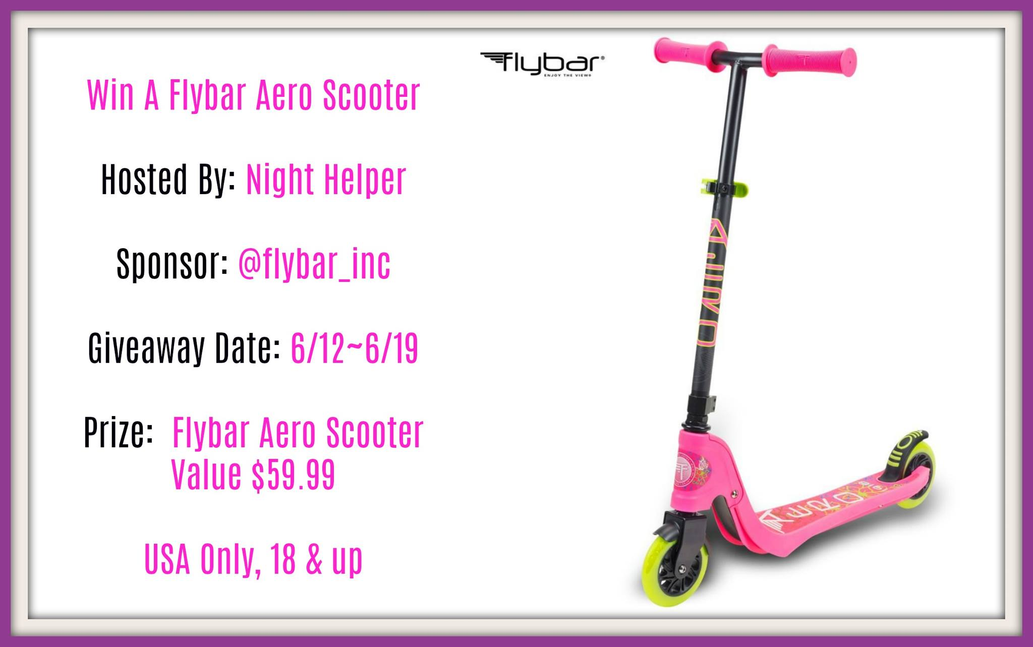 Win a Flybar Scooter