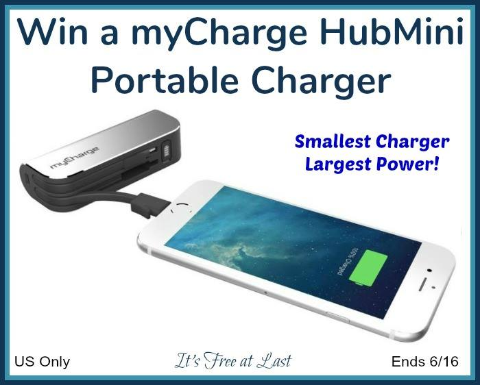 Win a myCharge HubMini