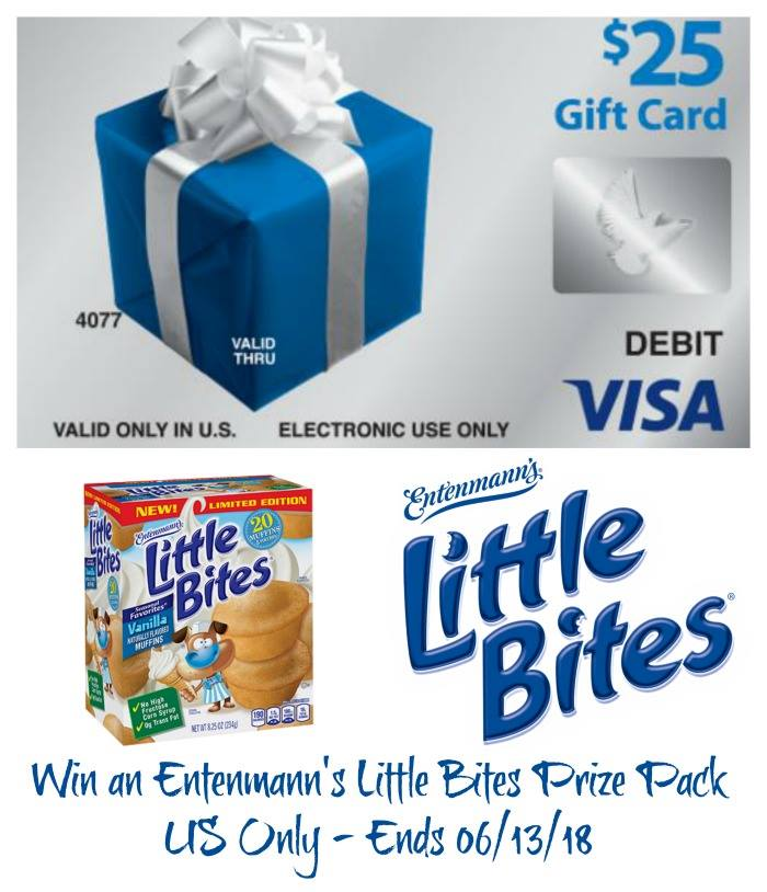 Win $25 Visa gc and Little Bites Coupons
