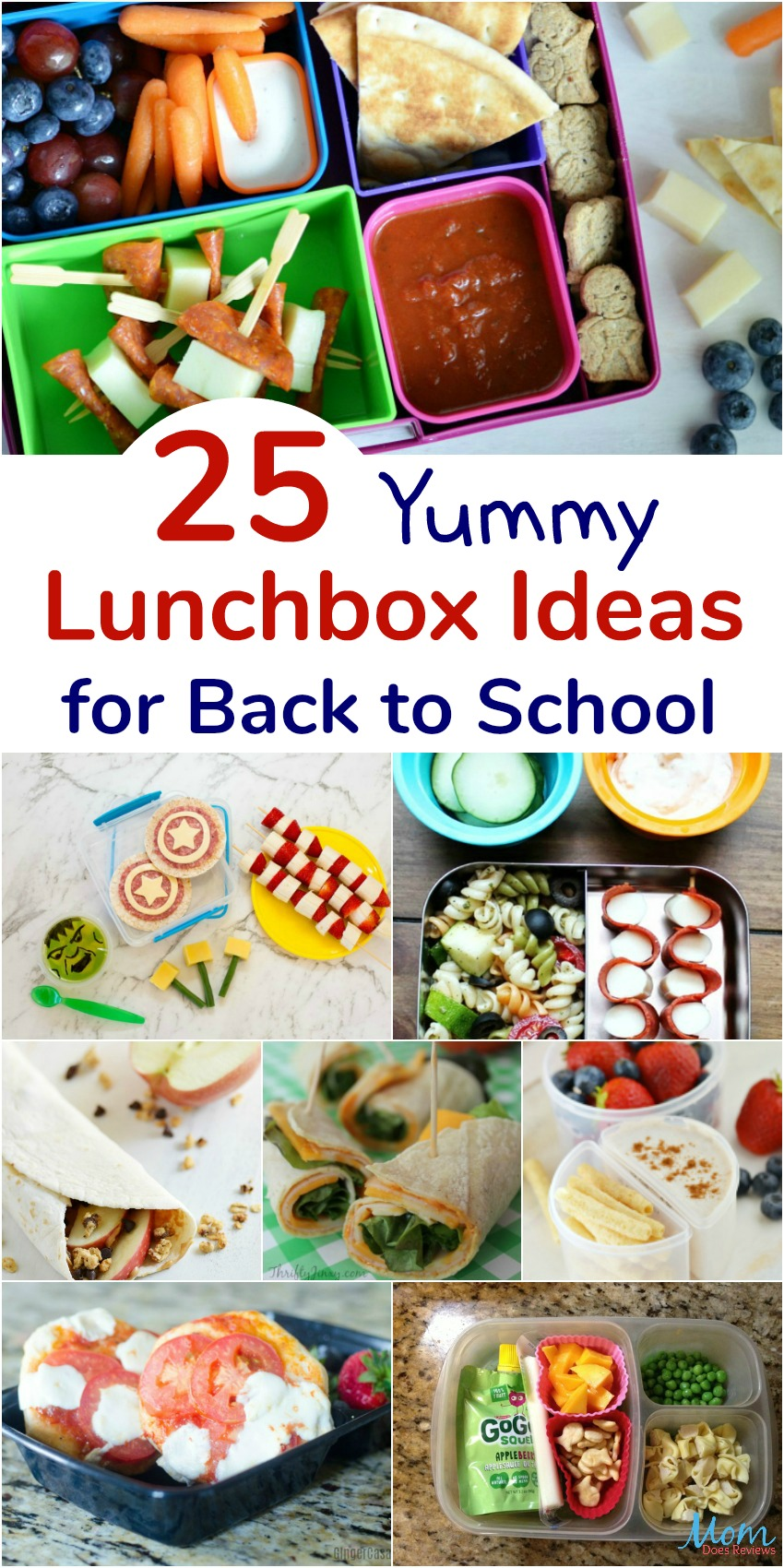 25 Easy Lunchbox Ideas for Back to School Your Child Will Love