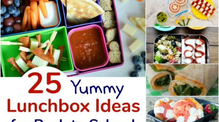 25 Yummy Lunchbox Ideas for Back to School Your Child Will Love #Back2School18