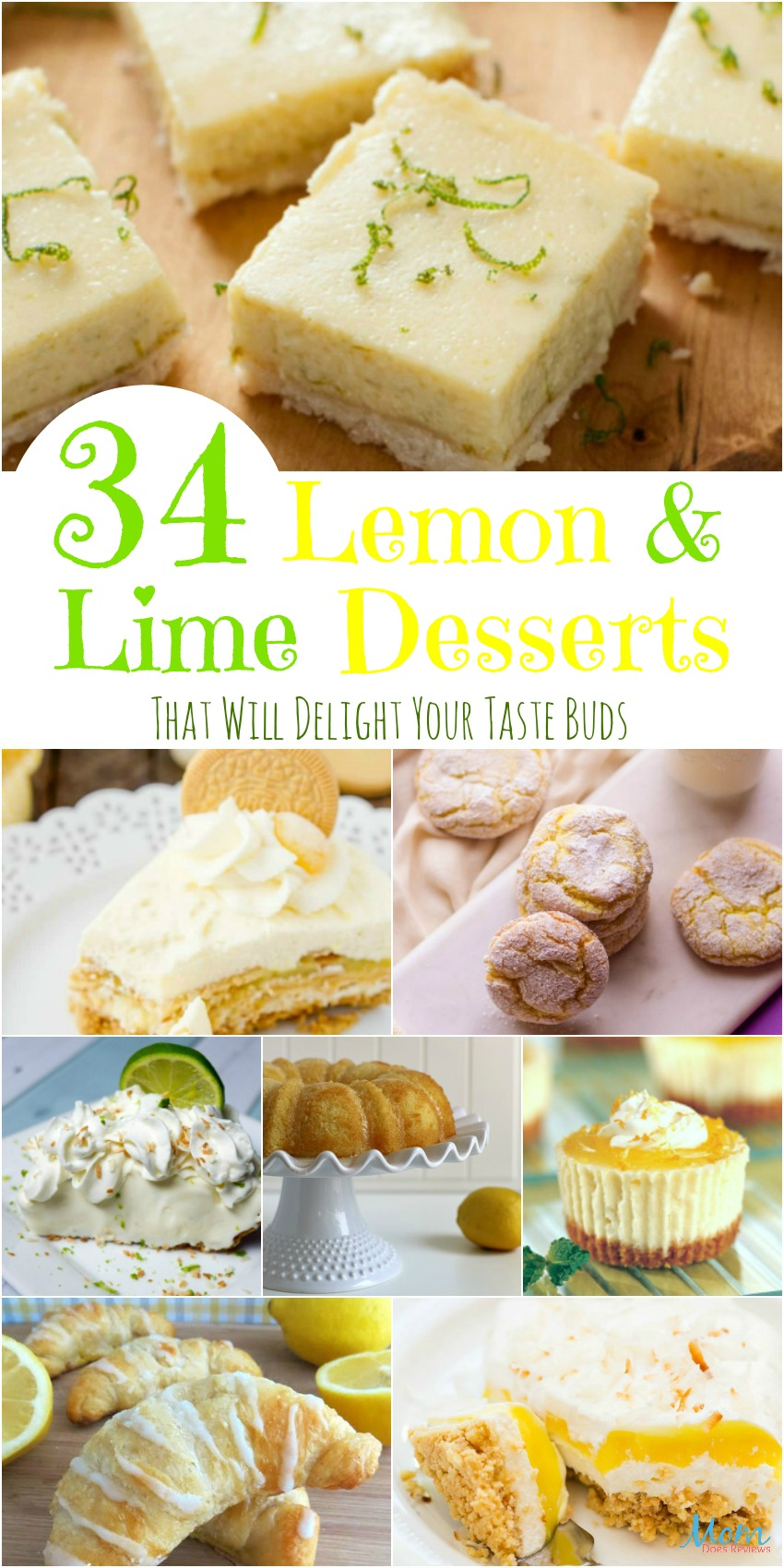 34 Lemon and Lime Desserts That Will Delight Your Taste Buds {Part 1}