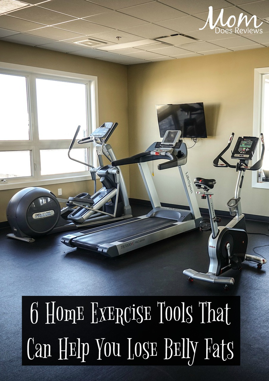 6 Home Exercise Tools That Can Help You Lose Belly Fats #fitness #weightloss #fats
