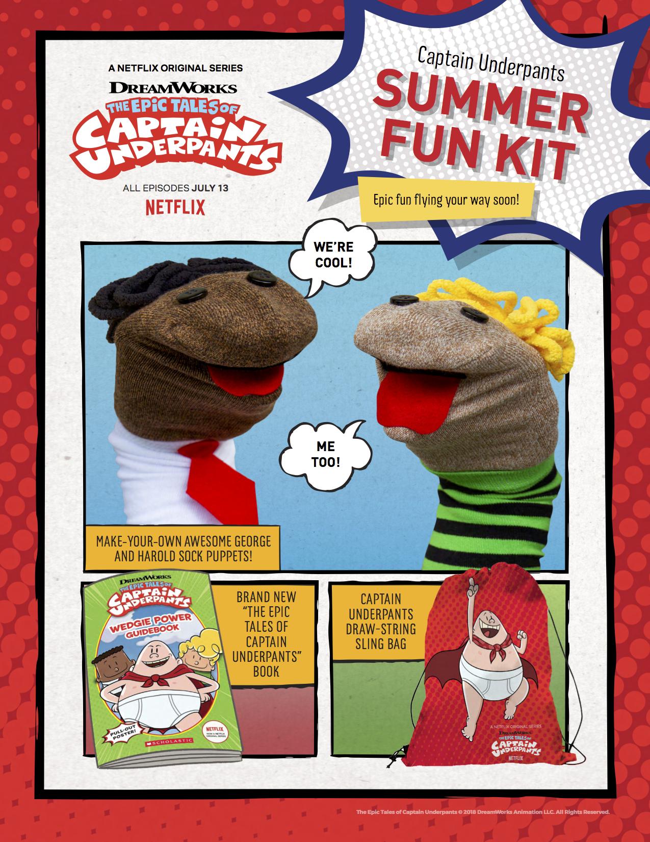 #Win a Captain Underpants Kit