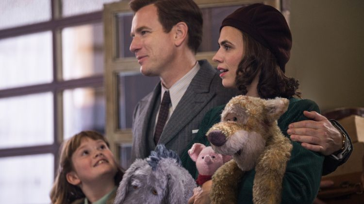 CHRISTOPHER ROBIN – Extended Sneak Peek Now Available #ChristopherRobin & Free Coloring Pages!