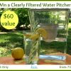 Clearly Filtered Water Pitcher Giveaway button