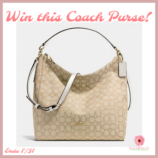 Win a Coach Purse!