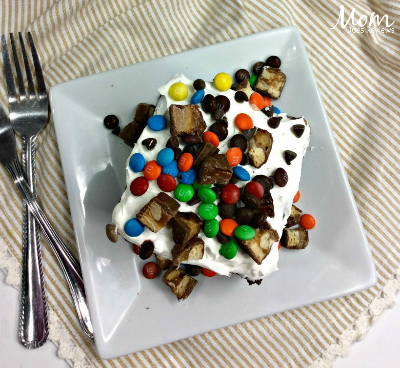 Crazy Candy Poke Cake