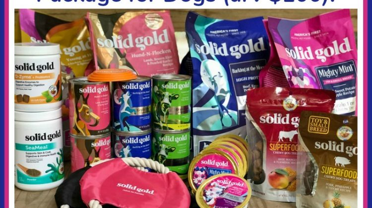 #Win a Custom Solid Gold Prize Package for Dogs (arv $100) US ends 7/28