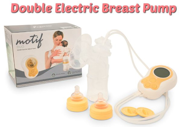 Giveaway Motif Double Electric Breast Pump