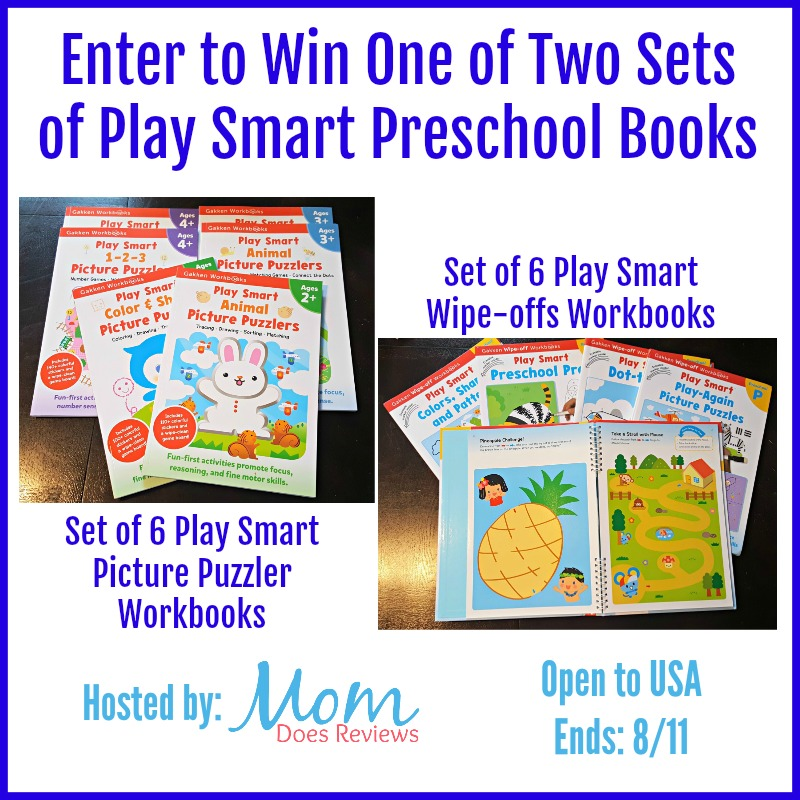 Giveaway Play Smart Preschool Books