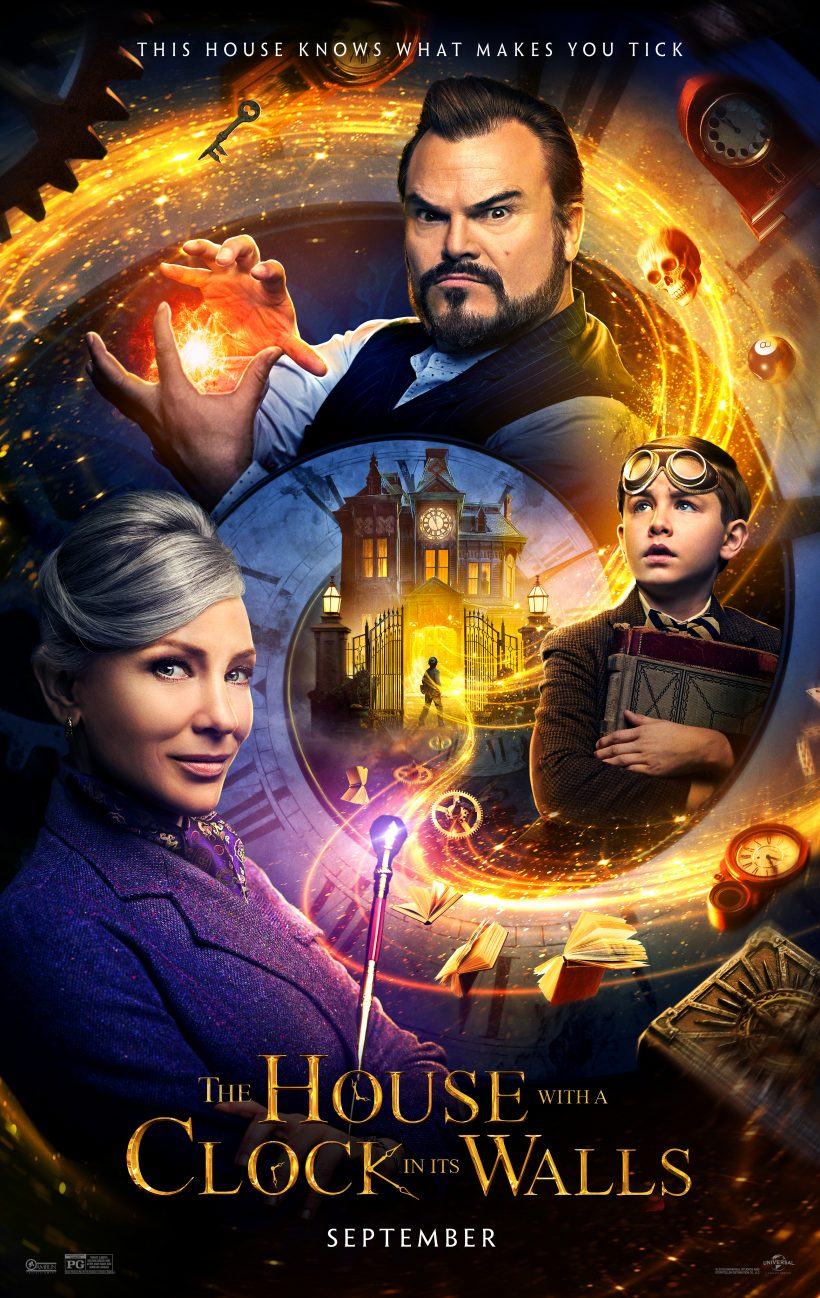 THE HOUSE WITH A CLOCK IN ITS WALLS starring Jack Black and two-time Academy Award winner Cate Blanchett
