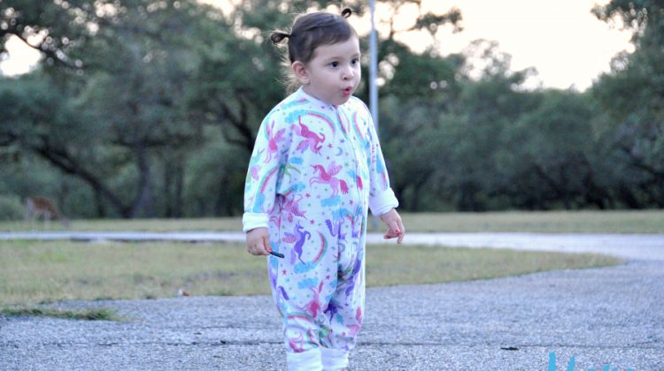Sleeping Baby Wearable Blanket Pajamas For Toddlers #MDRsummerfun