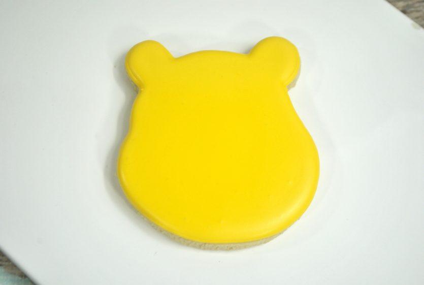 Winnie the Pooh Sugar Cookies