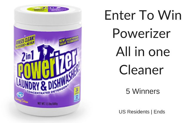 Powerizer Cleaner Does it All- 5 #Winners US ends 8/3