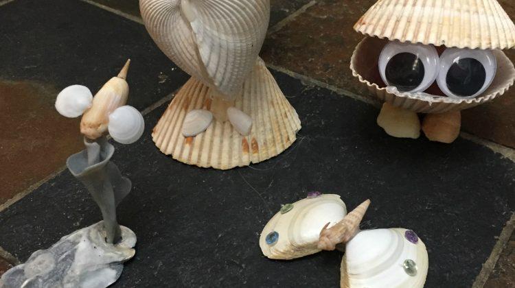 Make Some Cute Beach Shell Critters