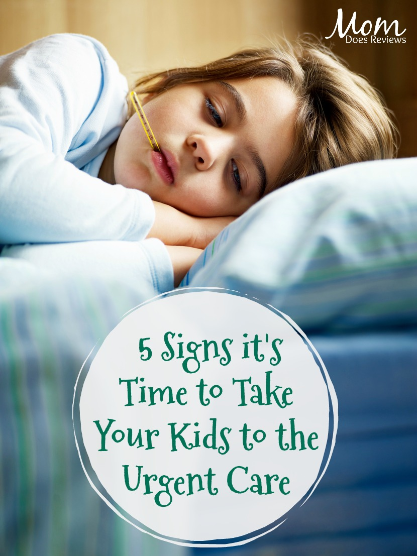 Sick Kids: 5 Signs it is Time to Take a Trip to the Urgent Care