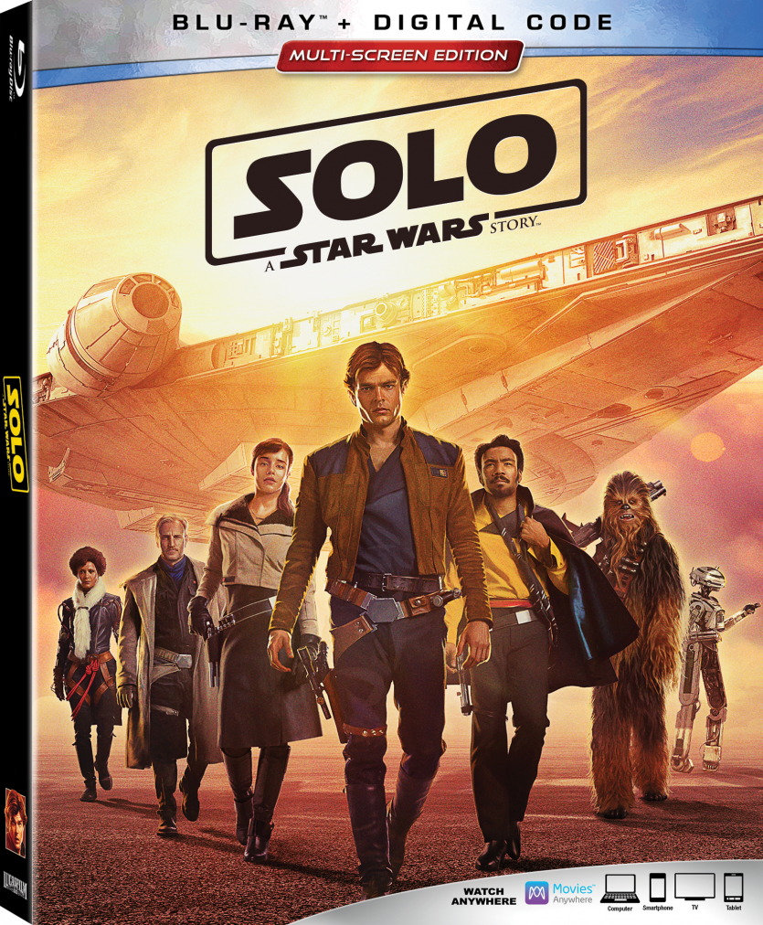 "Lucasfilm's ""Solo: A Star Wars Story"" Arrives To Homes Digitally on 9/14 and on Blu-ray 9/25"