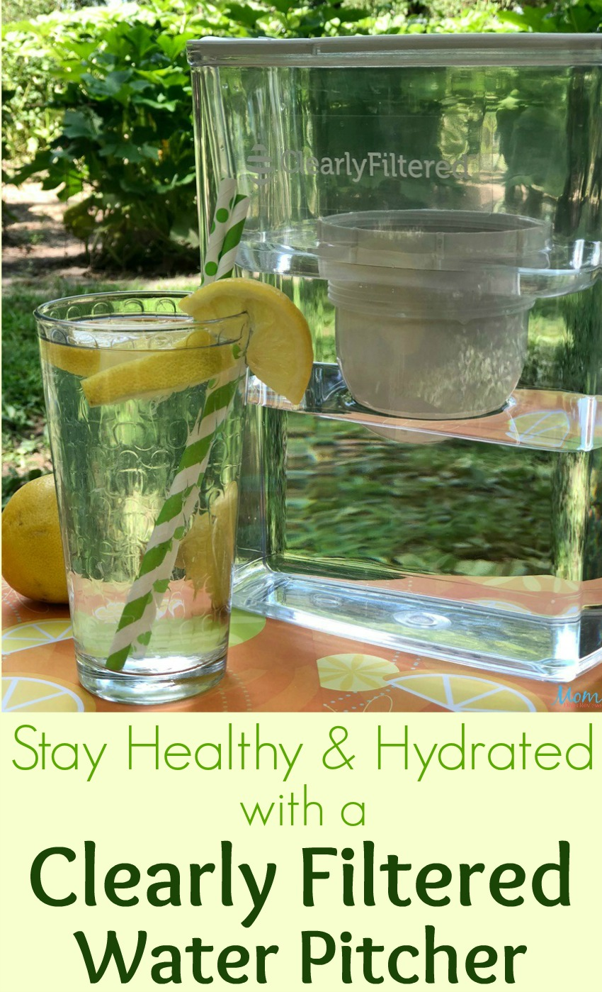 Stay Healthy & Hydrated with a Clearly Filtered Water Pitcher
