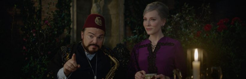 THE HOUSE WITH A CLOCK IN ITS WALLS starring Jack Black and two-time Academy Award winner Cate Blanchett.