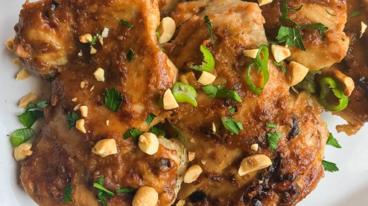 Instant Pot Thai Chicken Thighs
