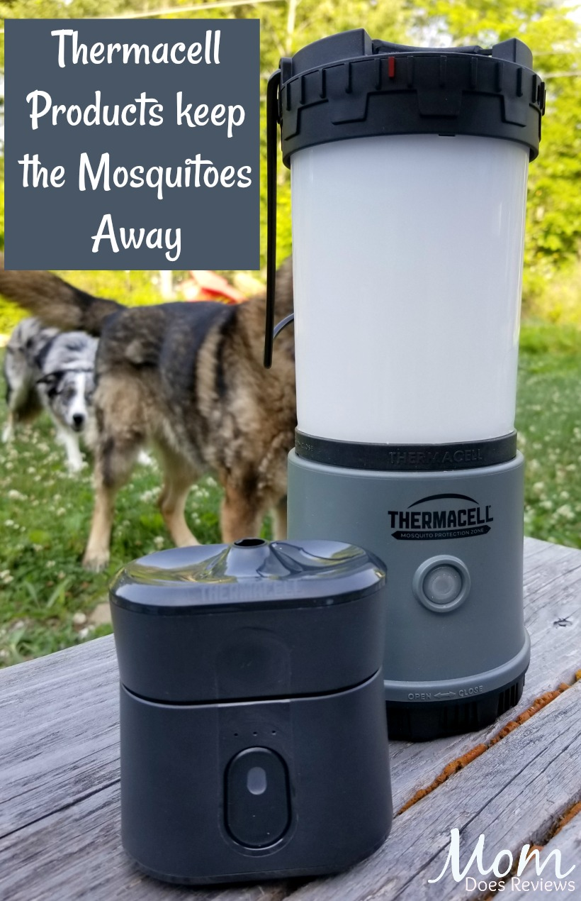 Thermacell Radius Zone Mosquito Repellent and lantern