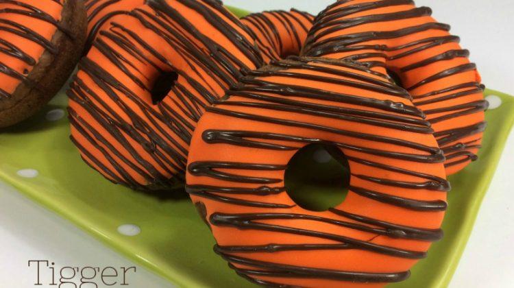 Tigger Donuts- Fun and Unique #ChristopherRobin