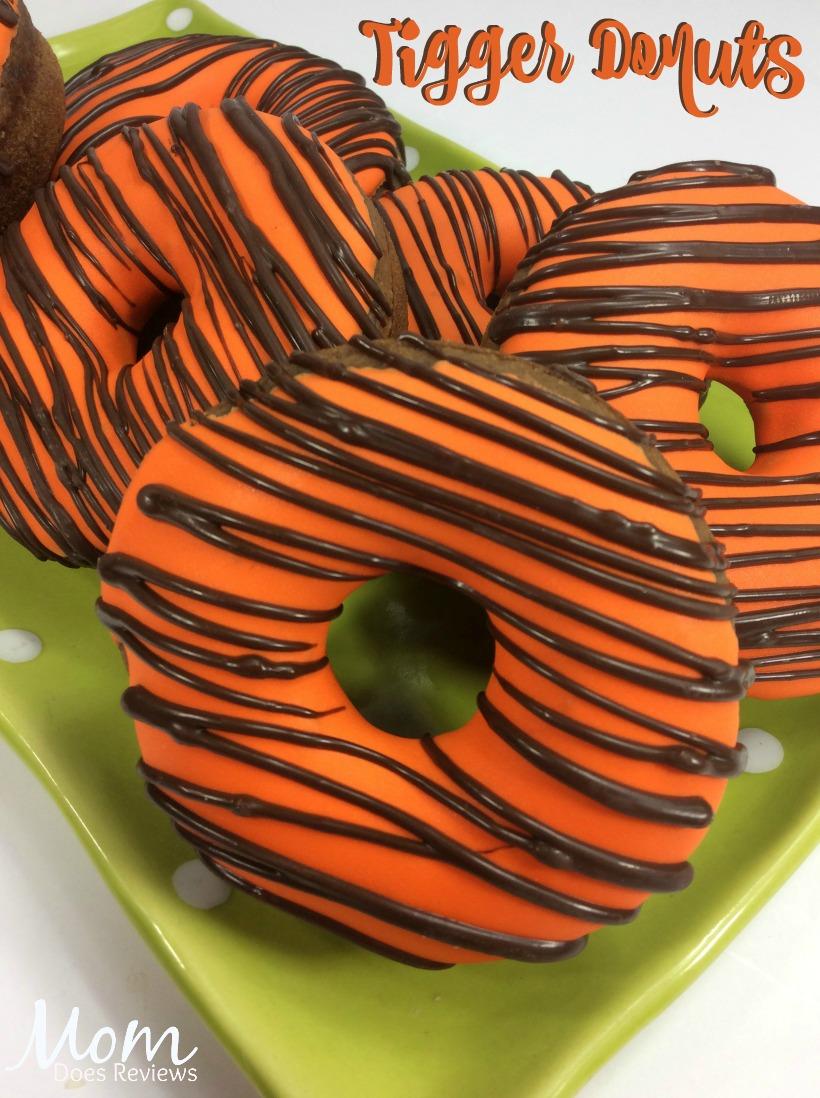 Tigger Donuts #christopherrobin #desserts #recipe #funfood