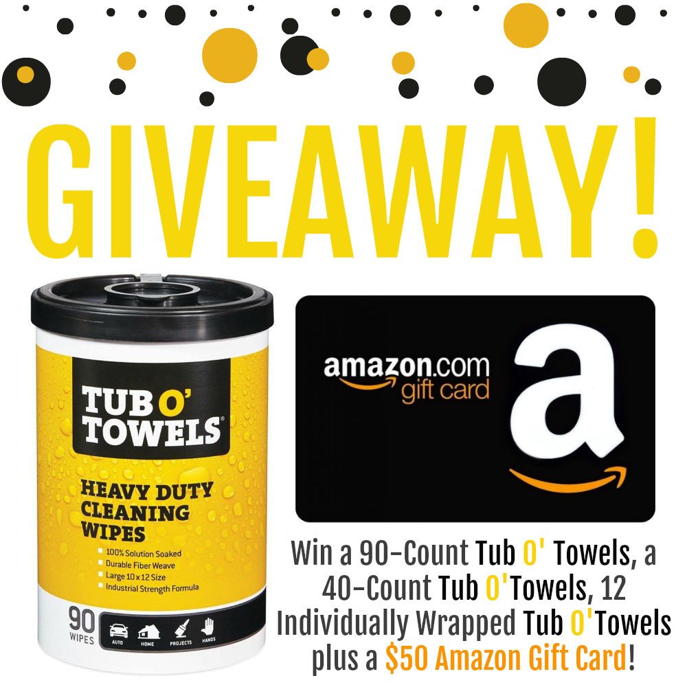 Tub O Towels Giveaway