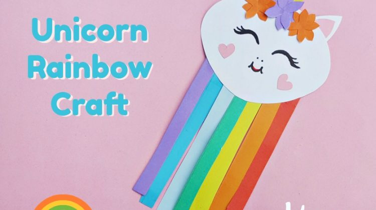 Unicorn Rainbow Craft #craft #unicorns #funstuff