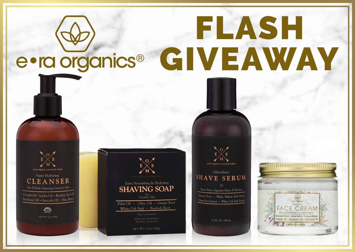 WIN Men's Organics Skincare Products From ERA Organics