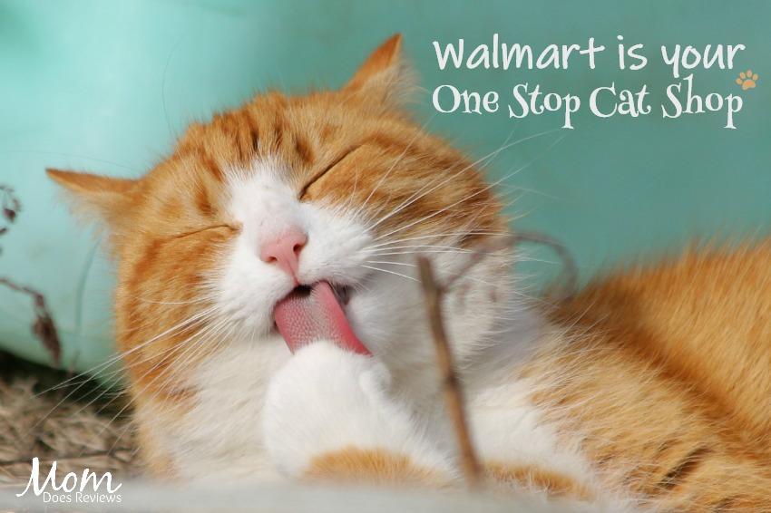 Walmart is your One Stop Cat Shop #purinacatshop