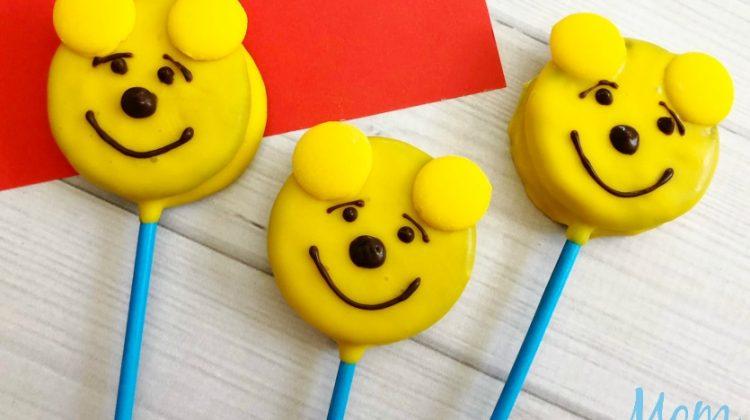 Winnie the pooh oreo pops 1