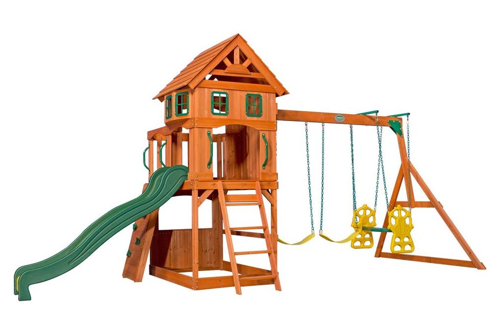 Win Your Very Own Backyard Discovery Atlantis Wooden Swing Set!