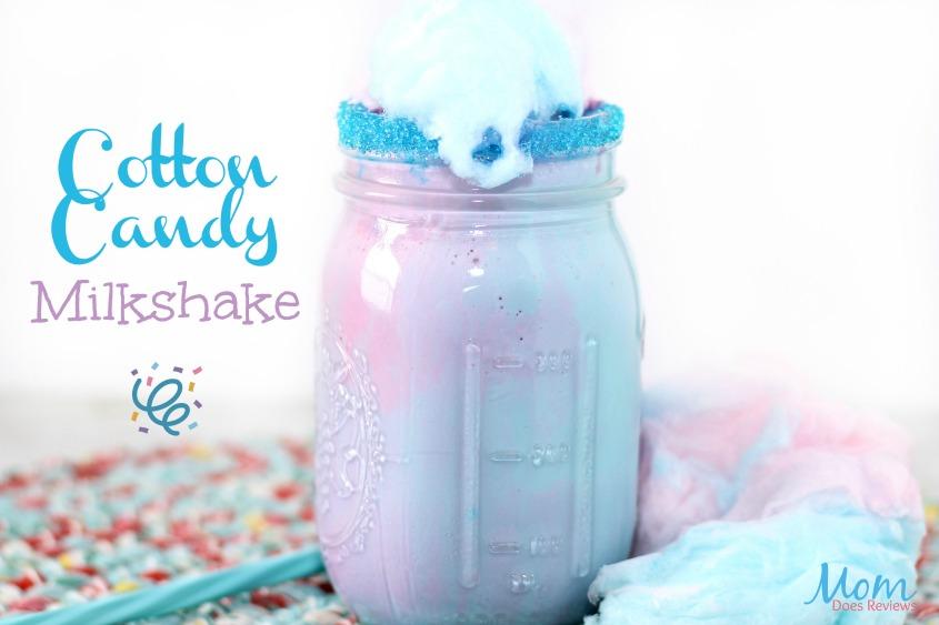 Cotton Candy Milkshake #dessert #milkshake #foodie