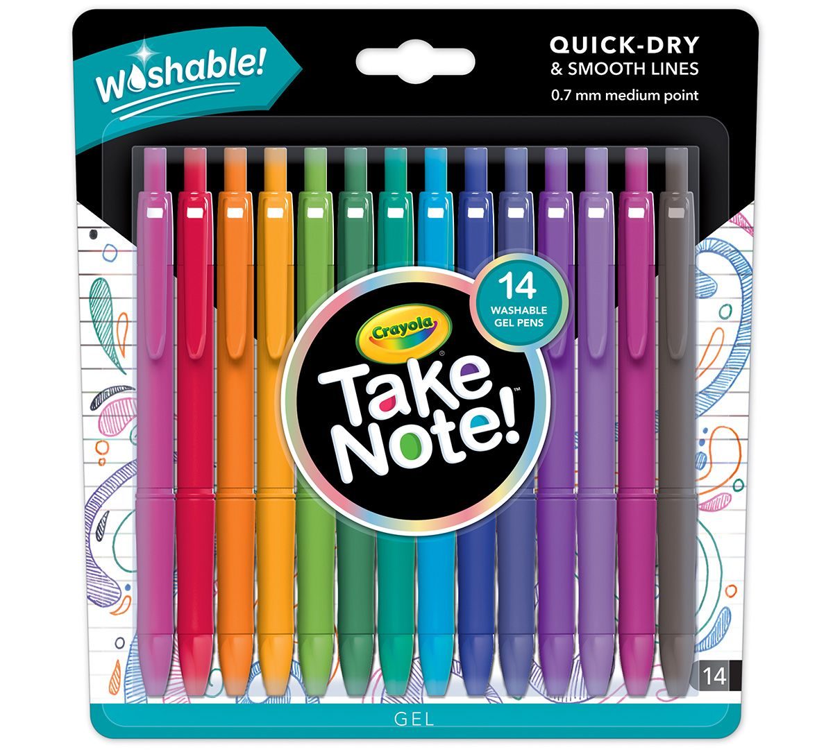 Crayola Take Note Gift Pack Giveaway